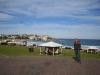 Erster Blick auf Bondi-Beach